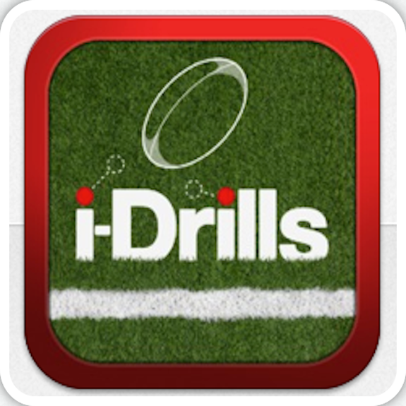 i-Drills Rugby Icon